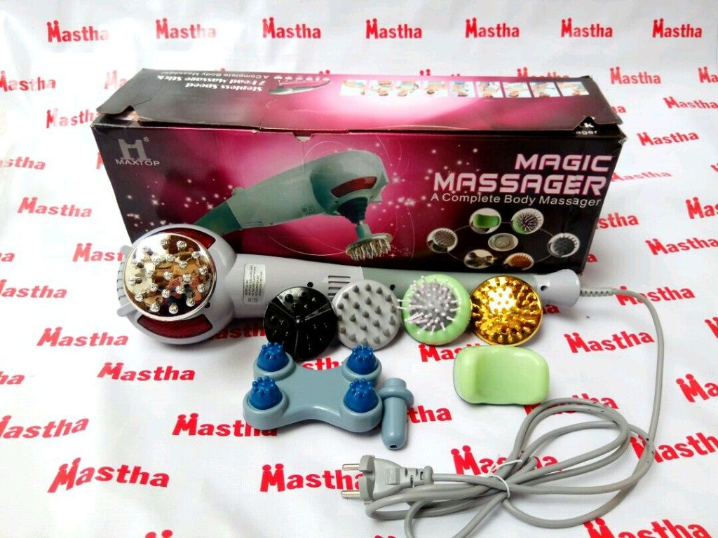 Alat Pijat Terapi mata 8 Blueidea Magic Massager 8 in 1 SL-999