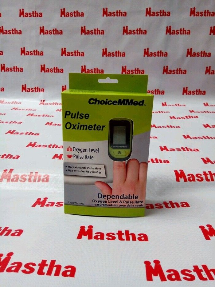 Saturasi Oxygen Pulse Oximetri Oximeter Oxymetry ChoiceMMed