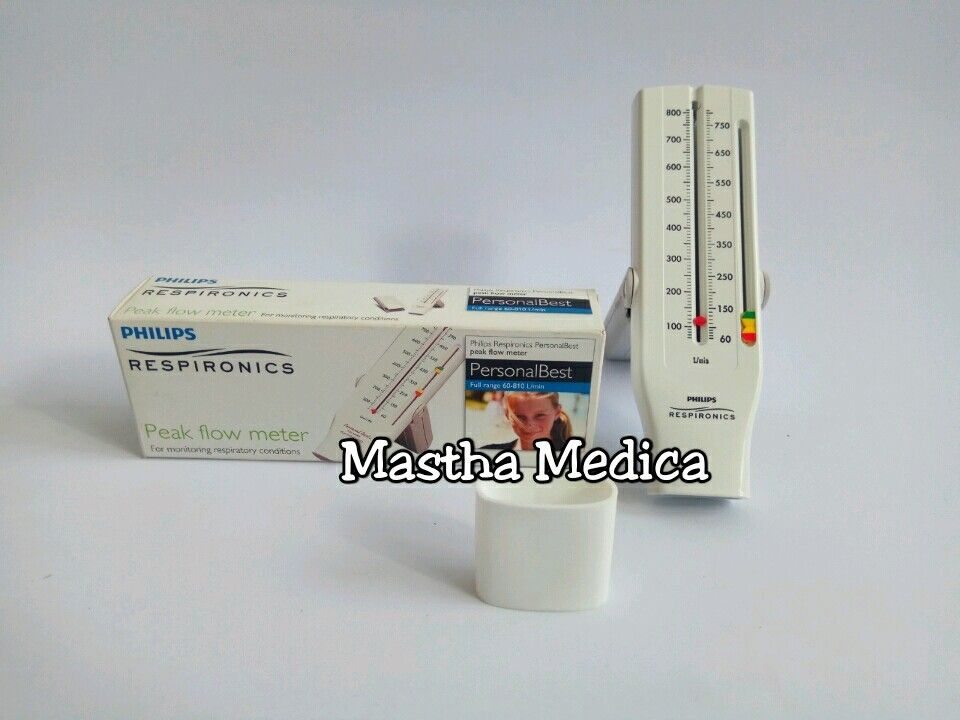 Peak Flow Meter / Flowmeter Philips Respironics Dewasa + Mouthpiece