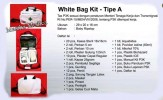 Tas Slempang Jinjing P3K +Isi First Aid Kit White Bag Kit Tipe A 4Life