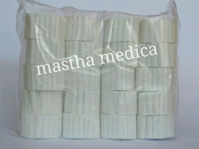 Dental Cotton / Kapas Gigi / Dental Cotton Rolls 38 x 8 mm Onemed