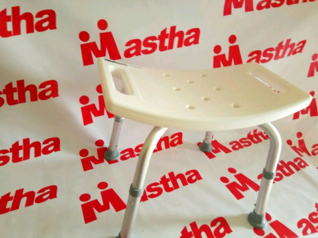 Shower Chair Bath Bench Kursi Mandi Meja Bangku Mandi Aluminium FS797L