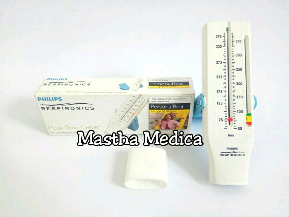 Peak Flow Meter/ Flowmeter Philips Respironics Anak + Mouthpiece