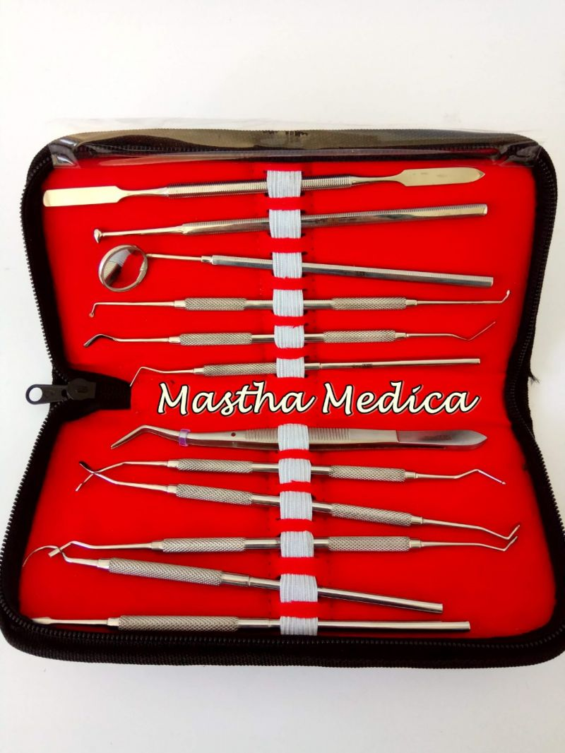 Instrument Alat-Alat Dental Kit Set