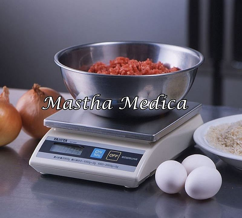 Timbangan Digital Electric Kitchen Scale KD - 200 (2 Kg) TANITA