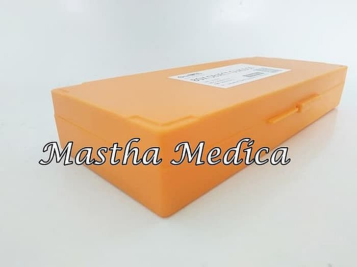 Box Object Glass Orange OneLab Isi 50 Onemed One Med
